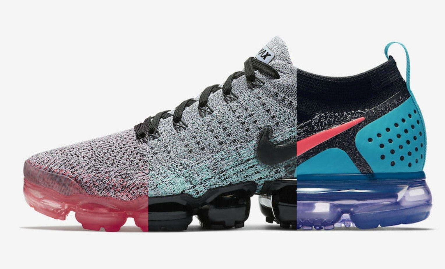 newest 653f2 6a1c6 Nike had a hit with the Vapormax Flyknit last year, which reinvented their  patented Air technology in a whole new way. Next month, as a part of Air  Max Day ...