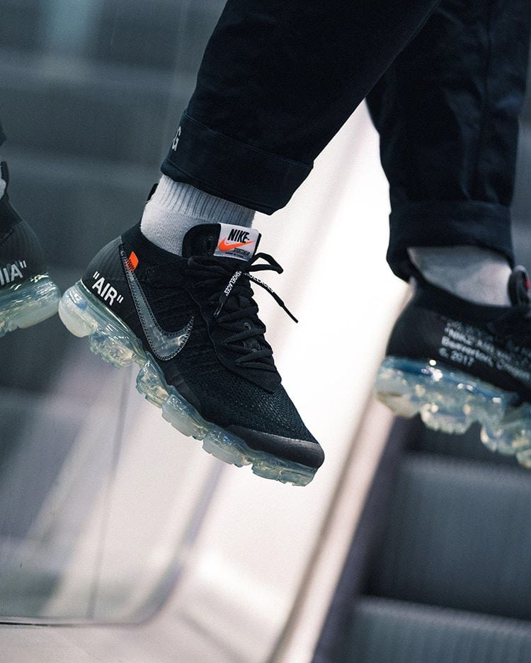 Off White X Nike Vapormax Quot Black Quot Online Links