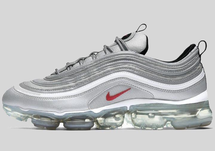"16bd6fc6565 Nike Air Vapormax 97 ""Silver Bullet"" March 2018 - JustFreshKicks"