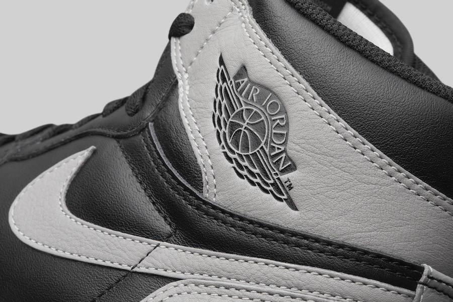 "ebfd27004e21 Air Jordan 1 Retro High OG ""Shadow"" Color  Black Medium Grey-White Style  Code  555088-013. Release Date  April 14"