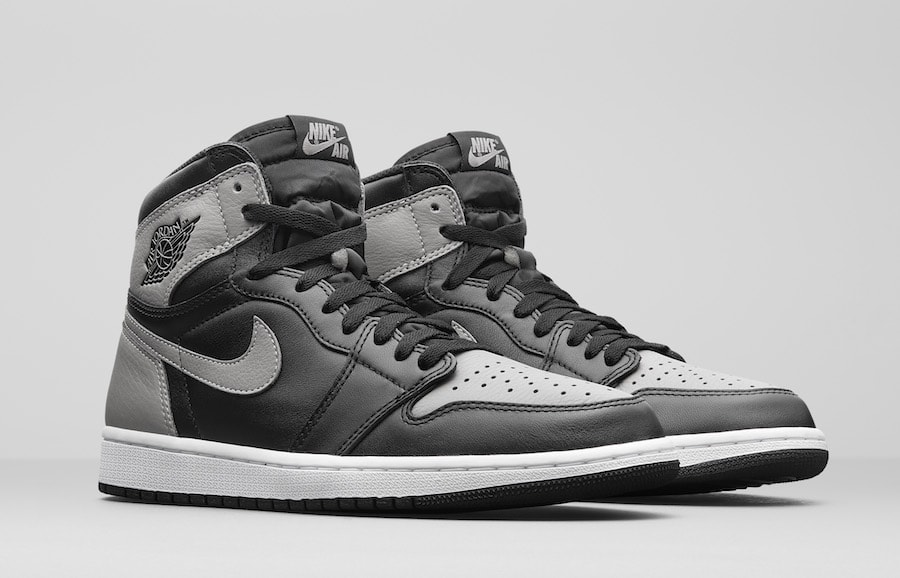 "timeless design d48a7 c452f Jordan Brand Officially Reveals the 2018 Air Jordan 1 Retro High OG ""Shadow"""