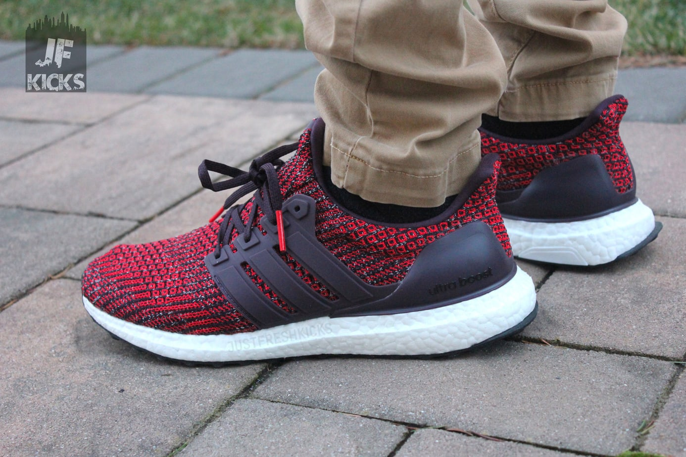 "8b1c11702c185 adidas Ultra Boost 4.0 ""Burgundy"" Exclusive Review – Ball"
