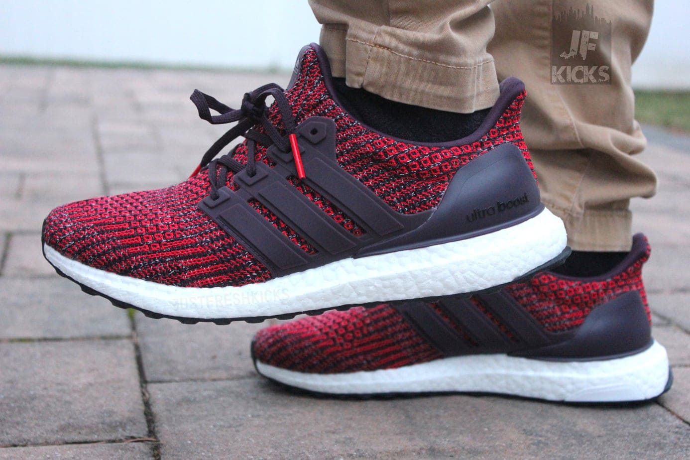 ultra boost noble red