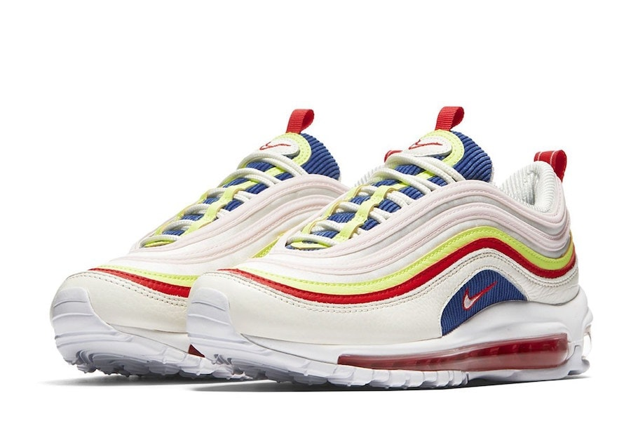 "brand new 87ba8 abd52 Official Look at the Nike Air Max 97 ""Rainbow"" Coming Soon"