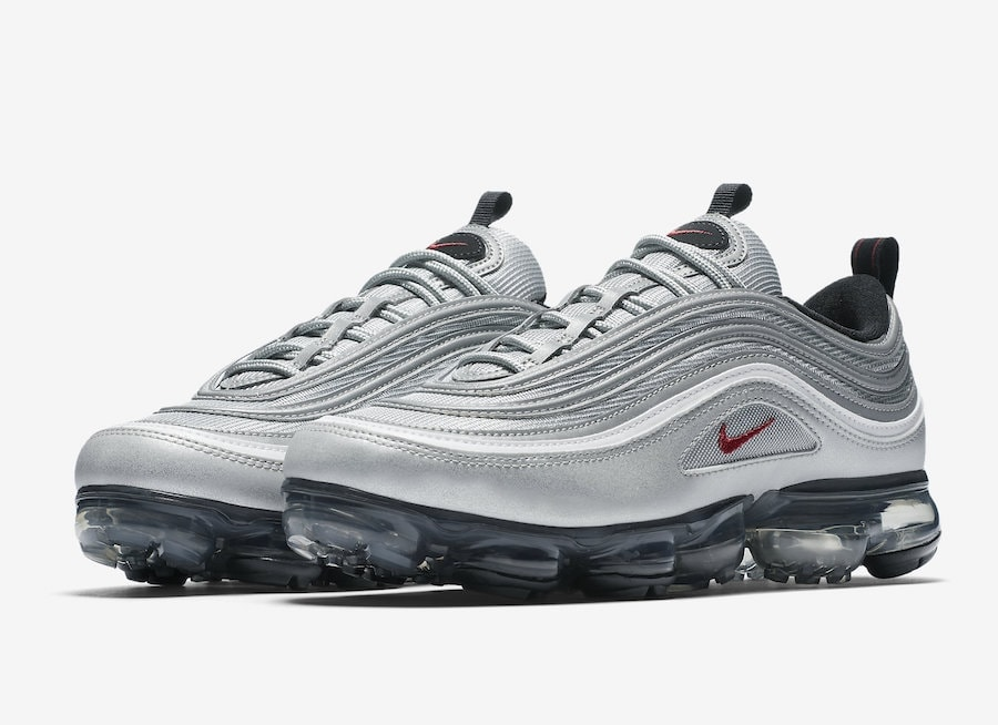 The Nike Air Max 97 and Air Vapormax are two of the most popular Swoosh shoes at the moment. So, Nike has created a hybrid of the two, ...