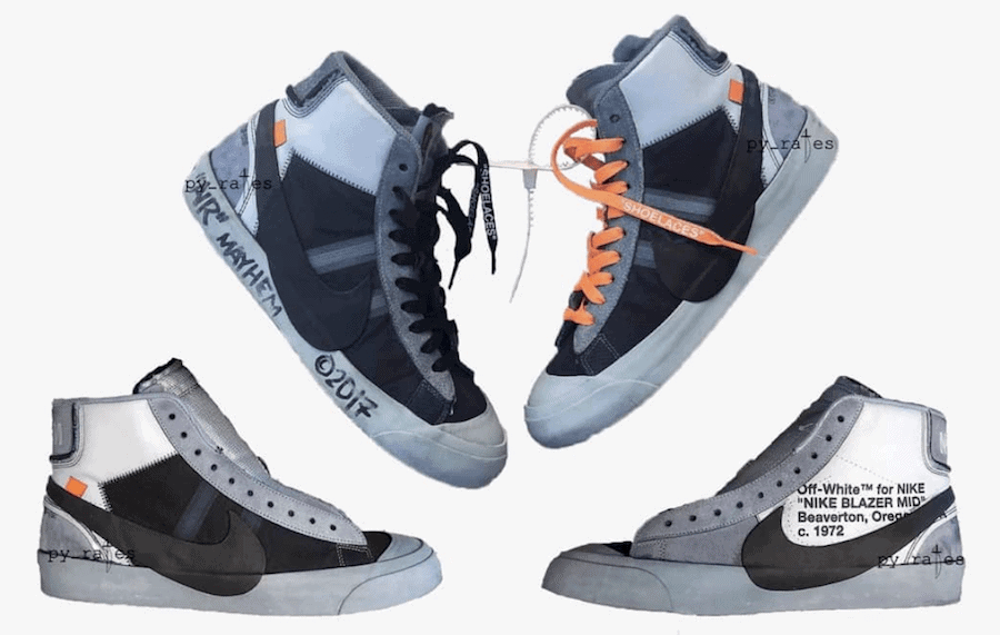 new style 93f34 2902a ... cheapest off white x nike blazer studio mid wolf grey release date  september 2018. price ...