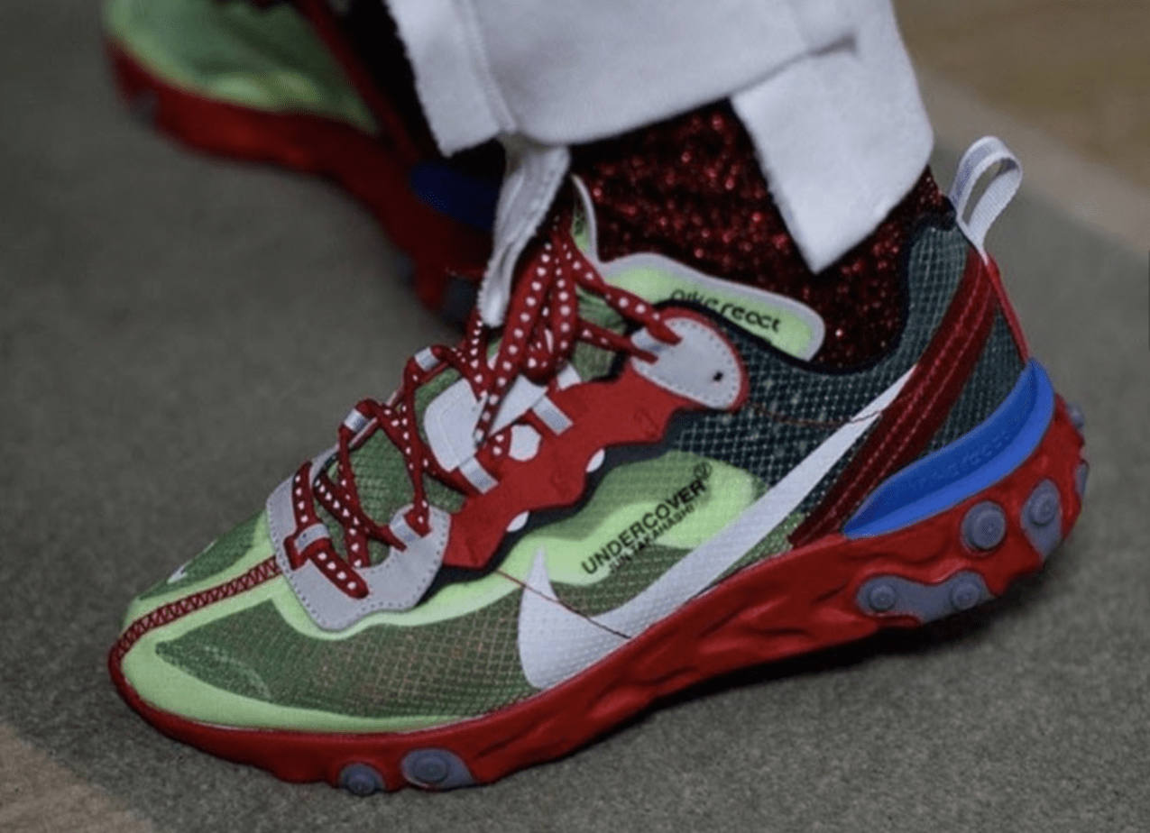 9c89b9808228 ... expect the Undercover x Nike React Element 87 to arrive in stores in  the coming months. Very little details at all were provided