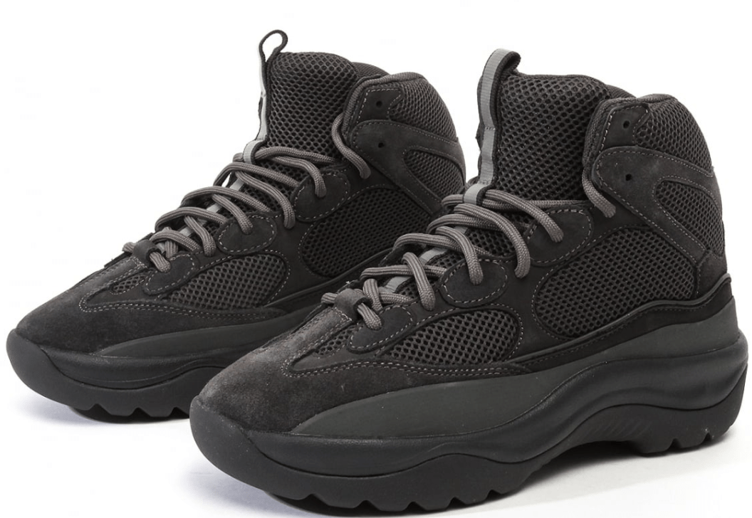 3d7434f76ccb4 Yeezy Desert Rat Suede Boot Release Date  TBD Price   270. Colorways   Graphite   Taupe