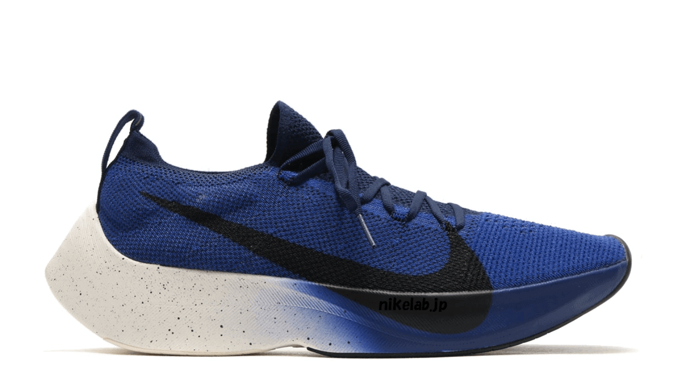 "Nike React Vapor Street Flyknit ""Deep Royal"" Release Date June 23rd, 2018.  Price 200. Color Deep RoyalBlack-Collegiate Navy-White"