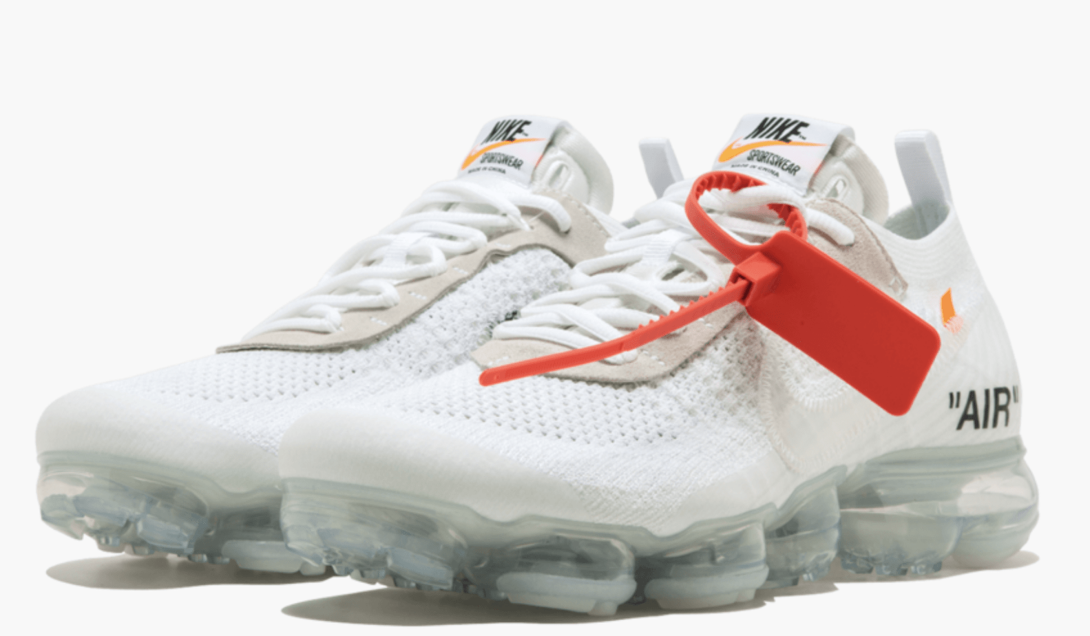 1dbad6242bd Off-White x Nike Air Vapormax Flyknit White Release Date  April 14th