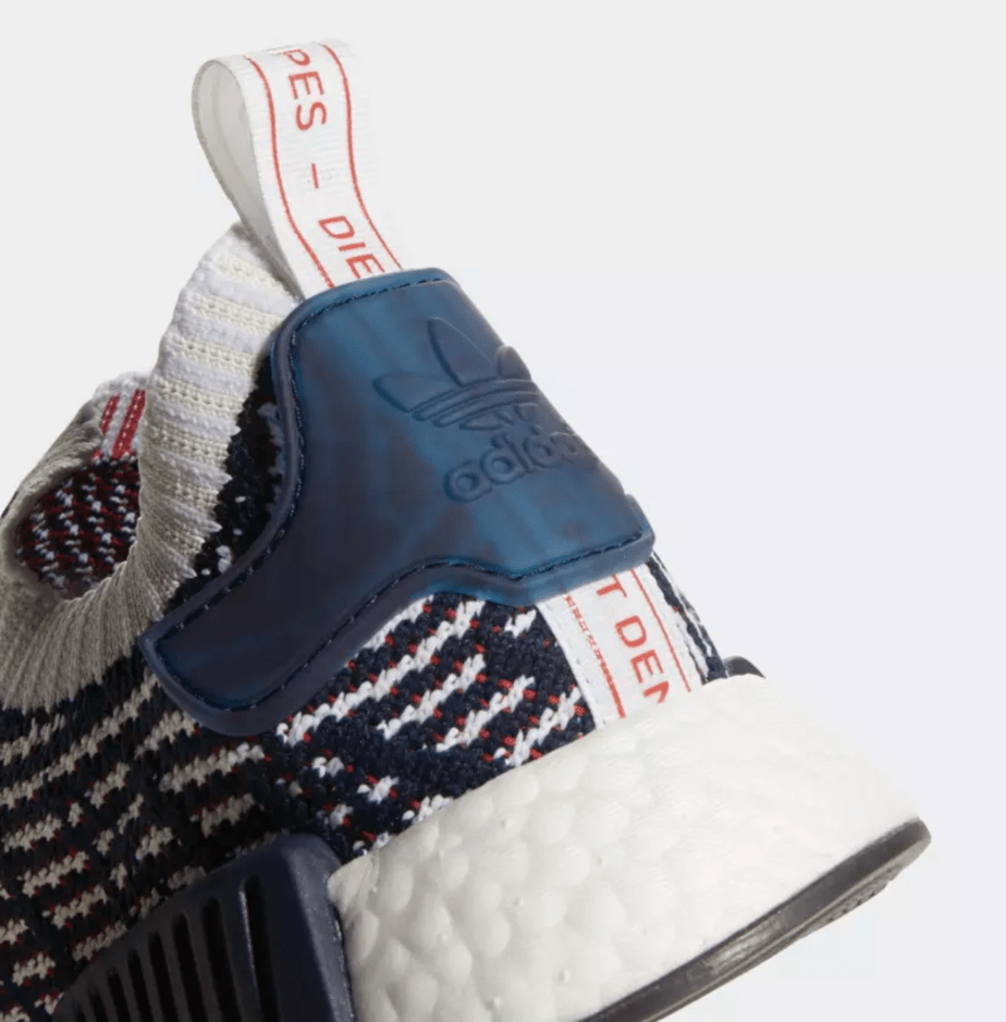 a0a5a98353be6 adidas NMD STLT Release Date  Available Now Price   140. Color  Collegiate  Navy Cloud White Collegiate Red Style Code  D96821