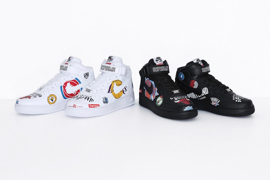 58789babad3235 Supreme x Nike x NBA Collection March 2018 - JustFreshKicks