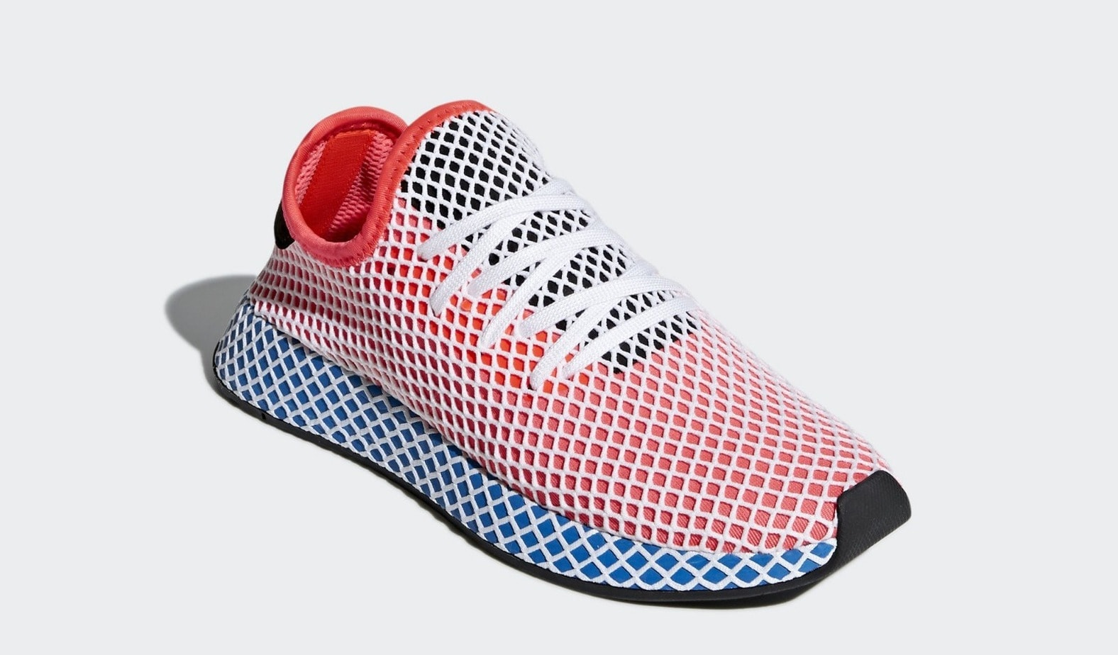 adidas Originals Deerupt Runner Trainers In Red And Blue discount sast low price fee shipping sale online discount professional cheap buy ZUTpCEp2ZN