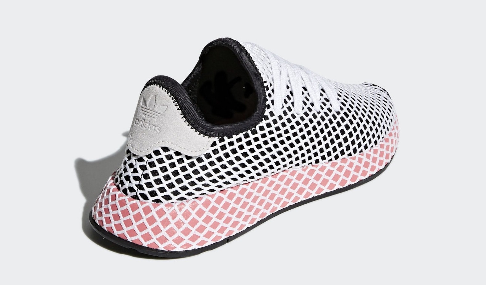 outlet store a3c69 b1fc2 adidas Deerupt Runner PinkOrange Release Date March 22nd, 2018. Price  100. Color Chalk PinkChalk PinkBold Orange Style Code CQ2910
