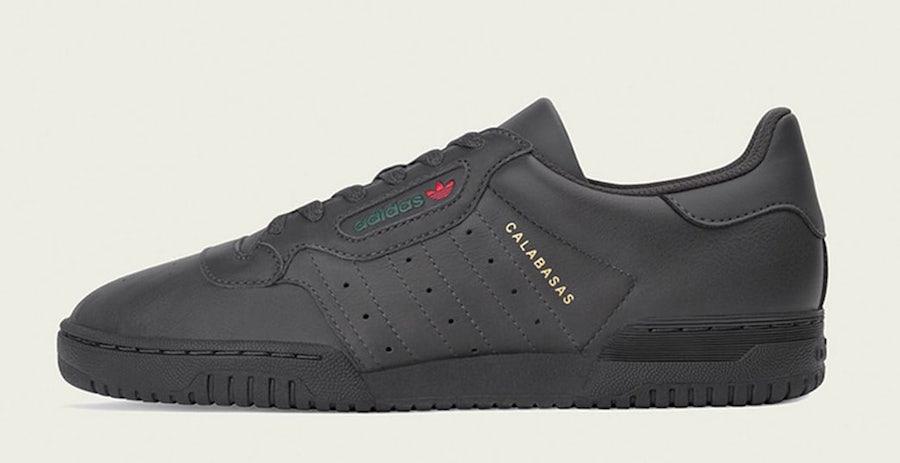 "f74bbf60693 adidas Yeezy Powerphase ""Black"" Online Links   Raffles - JustFreshKicks"