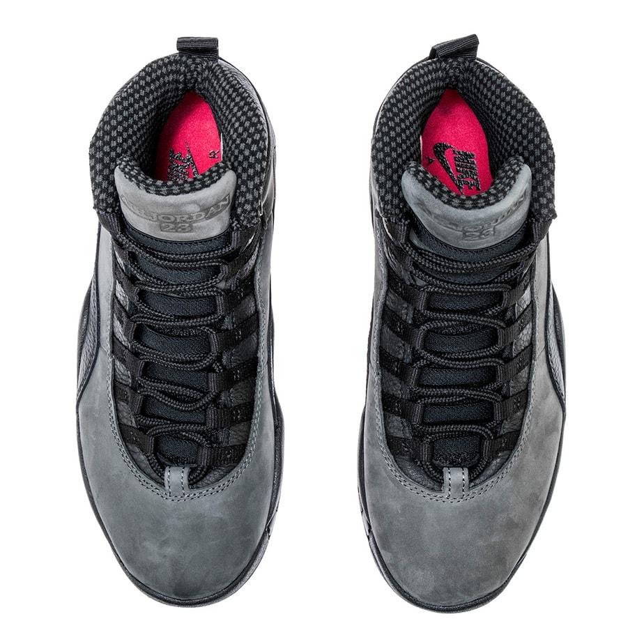"1beec8053cb8cd Air Jordan 10 Retro ""Dark Shadow"" Color  Dark Shadow Black-True Red Style  Code  310805-002. Release Date  April 21"