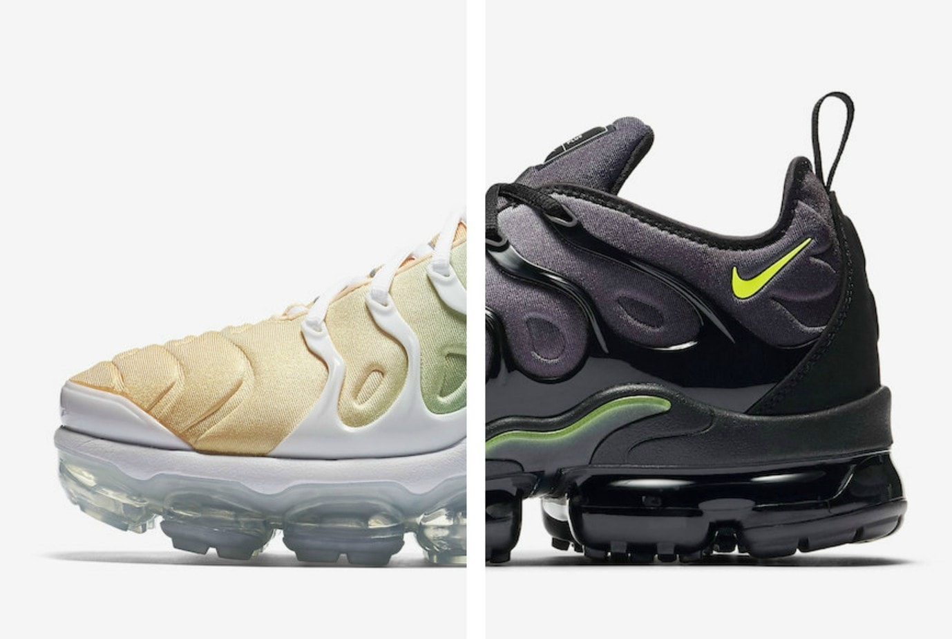 The new Nike Air Vapormax Plus first release in January of this year. The  fresh silhouette was a surprise hit, selling out at most retailers.