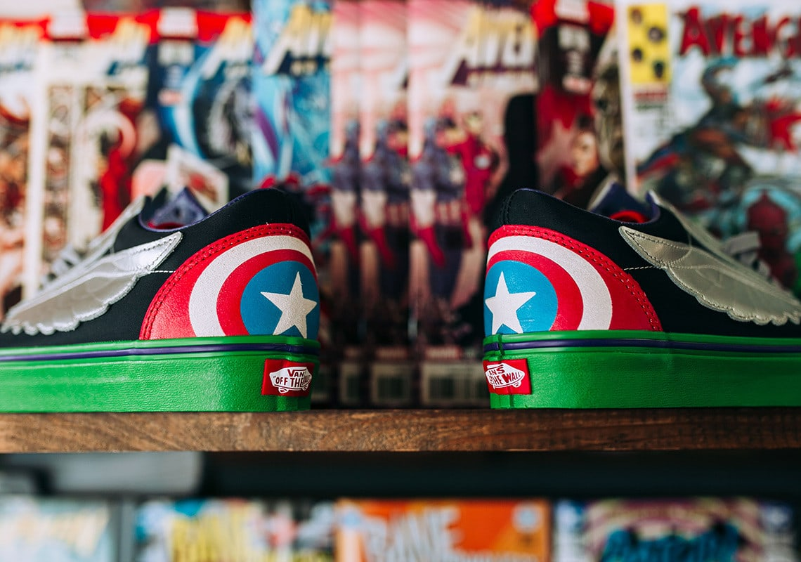 4e465800e6 UPDATE  The Vans x Marvel collection will hit select Vans retailers like  SneakAvenue starting Friday