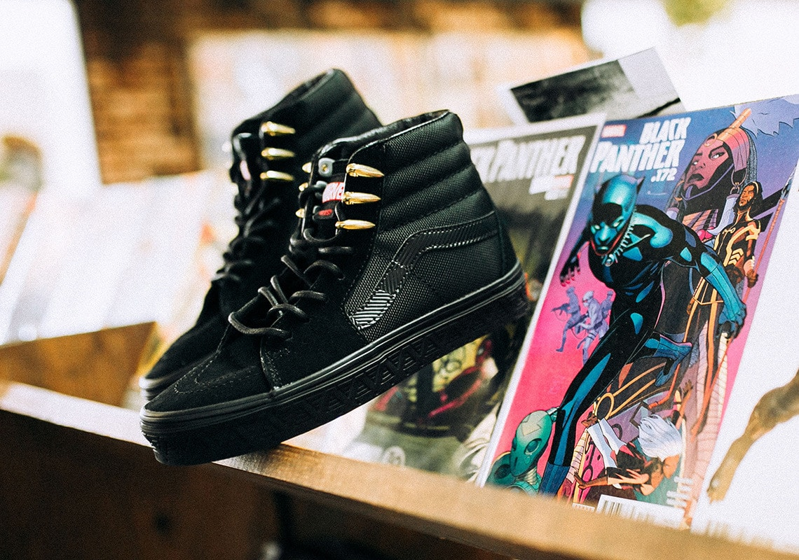 4de0cf3ddea6e4 UPDATE  The Vans x Marvel collection will hit select Vans retailers like  SneakAvenue starting Friday