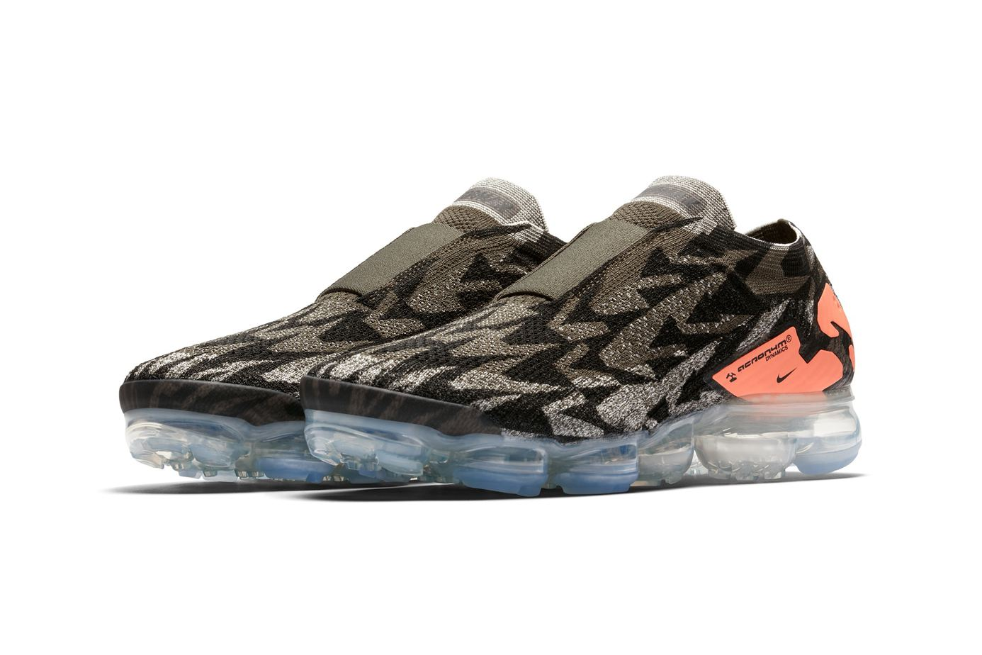 """6c7d80511ca Acronym x Nike Air VaporMax Moc 2 """"Thirsty Bandit"""" Release Date  May 15"""