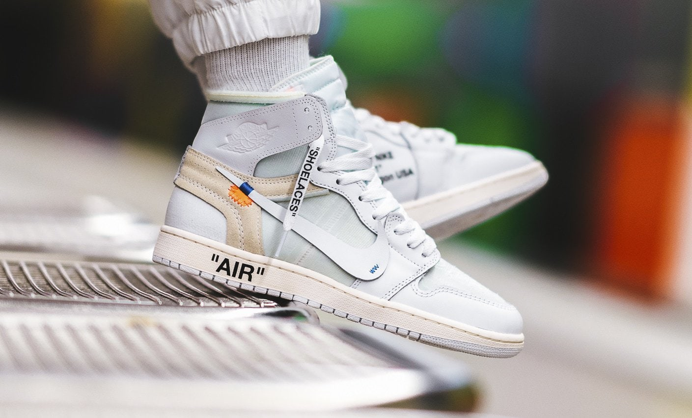 nike jordan air off white