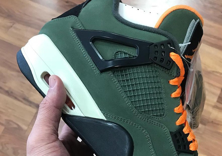428e3e1b458d A New Sample of the Undefeated x Air Jordan 4 Has Appeared Online