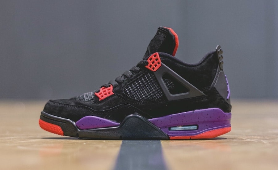 "best sneakers 4f19f f907f The Air Jordan 4 ""Raptors"" Finally Releases This Week"