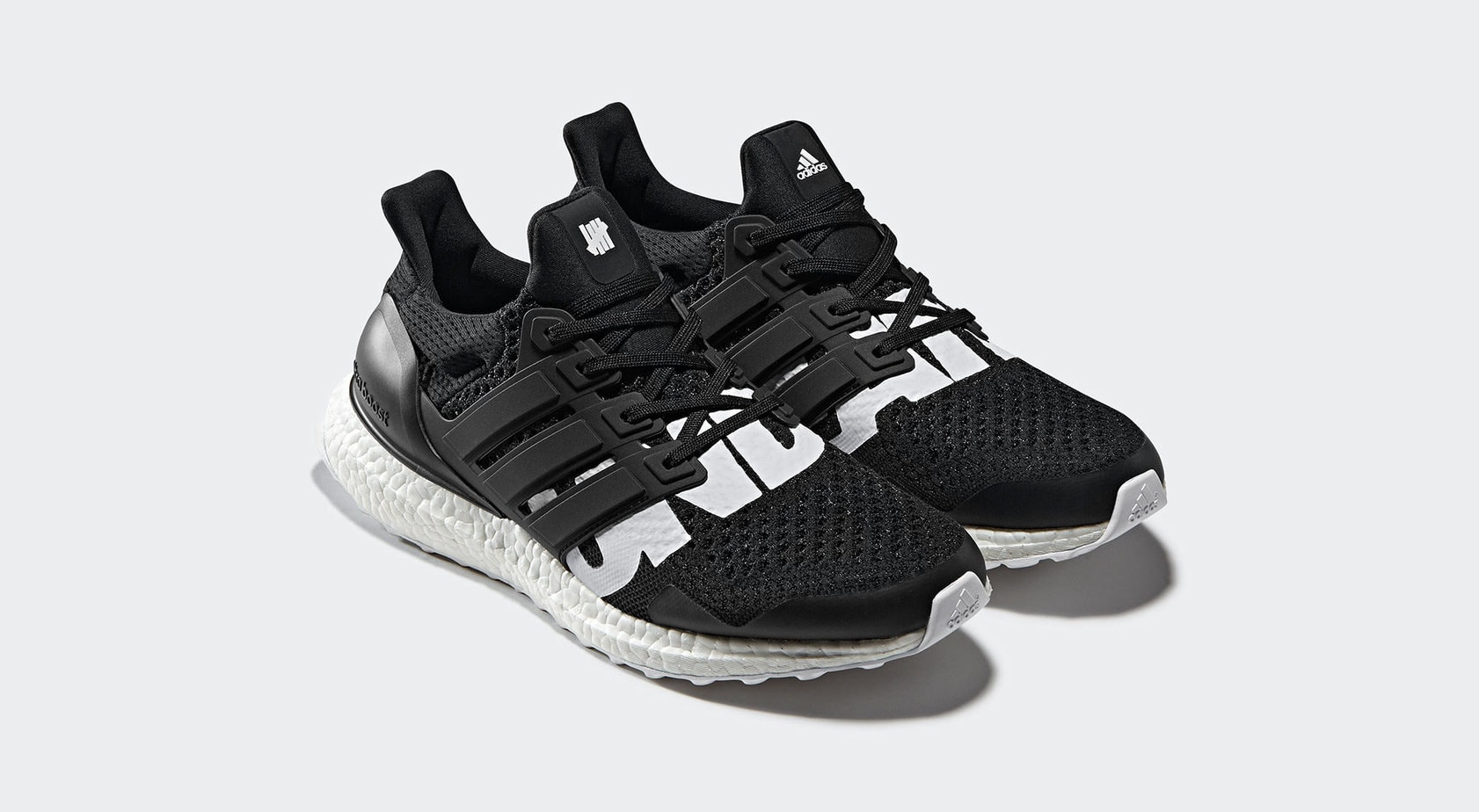 "35588eee186 The Undefeated x adidas Ultra Boost ""Core Black"" is finally set to release  this Saturday"