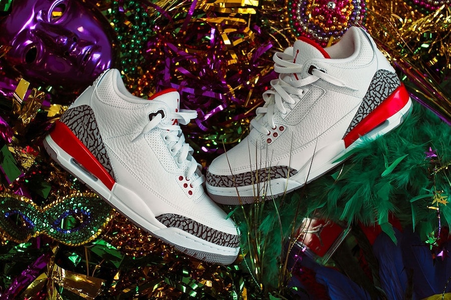 "a75acbd21364 The Air Jordan 3 ""Katrina"" was originally created for charity to benefit  Hurrican Katrina survivors. Now"