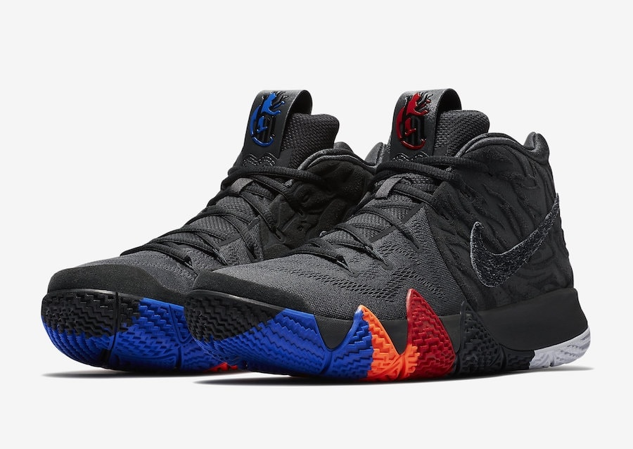 "online store bb204 5a80a Nike Kyrie 4 ""Year of the Monkey"" Release Date April 14, 2018. Price  120. Color AnthraciteBlack Style Code 943806-011"