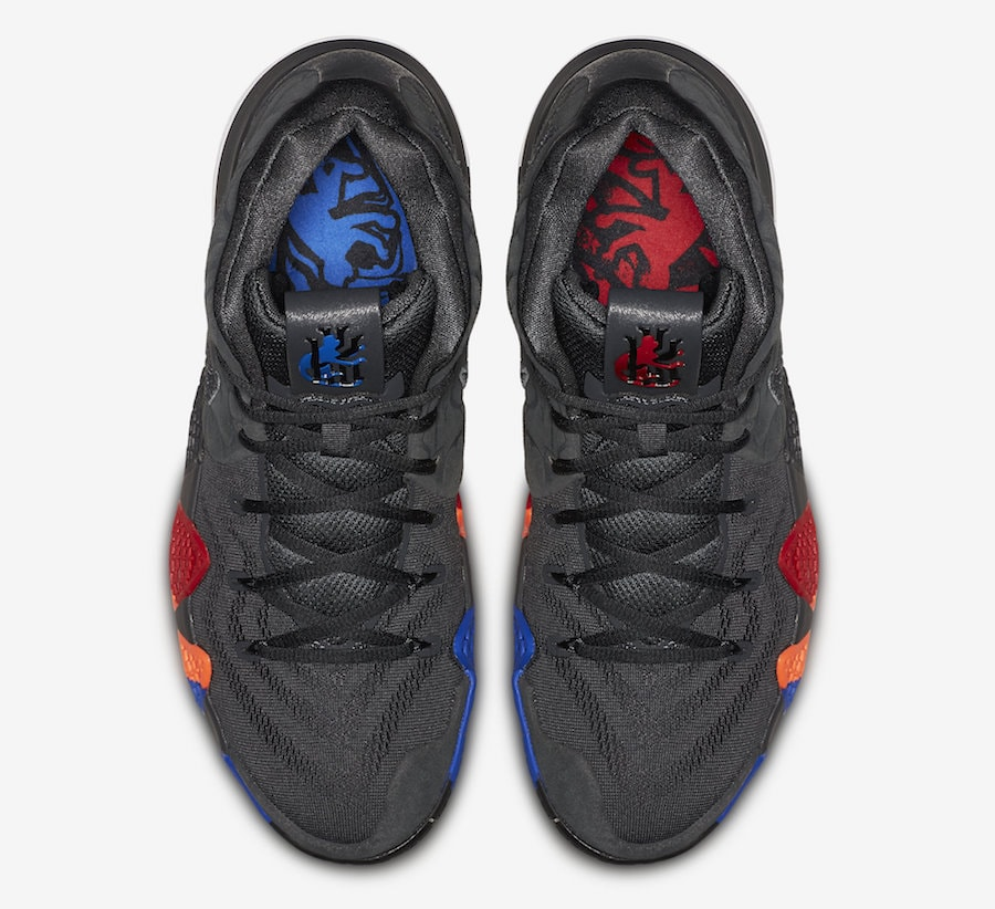"""new style 1c7ac 42495 Nike Kyrie 4 """"Year of the Monkey"""" Release Date  April 14, 2018. Price    120. Color  Anthracite Black Style Code  943806-011"""