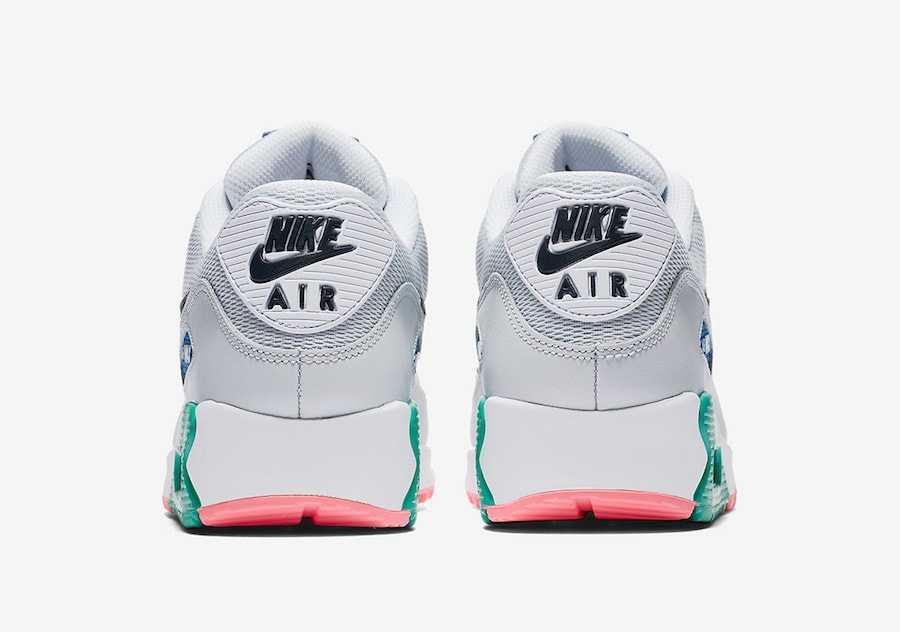 "The post The Nike Air Max 90 Essential Launches in a Pastel ""Summer Sea""  Colorway appeared first on JustFreshKicks."