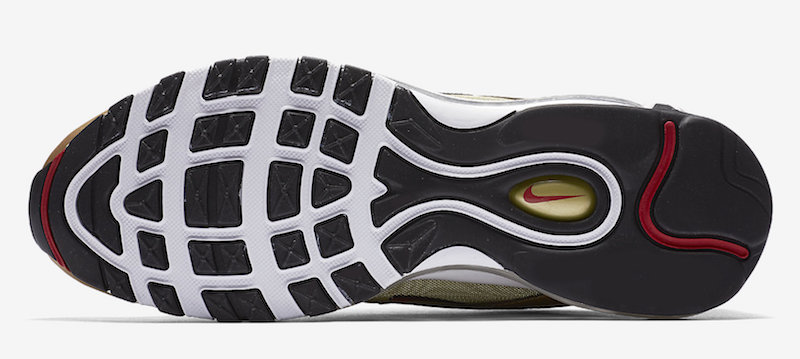"""The post The Nike Air Max 97 """"Gold Bullet"""" is Returning This May appeared  first on JustFreshKicks. 45c219821"""