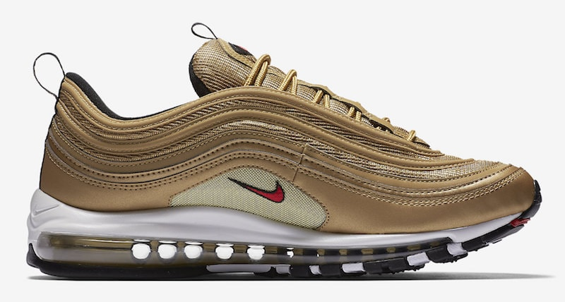 super popular b5c4d 69b2c ... uk nike air max 97 og gold bullet release date may 17 2018. price 160