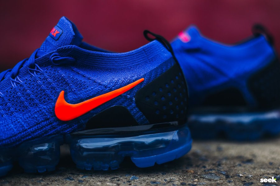 """a114eb76cb401 Nike Air VaporMax 2.0 """"Racer Blue"""" Release Date  Coming Soon Price   190.  Color  Racer Blue Total Crimson-Black Style Code  942842-400"""