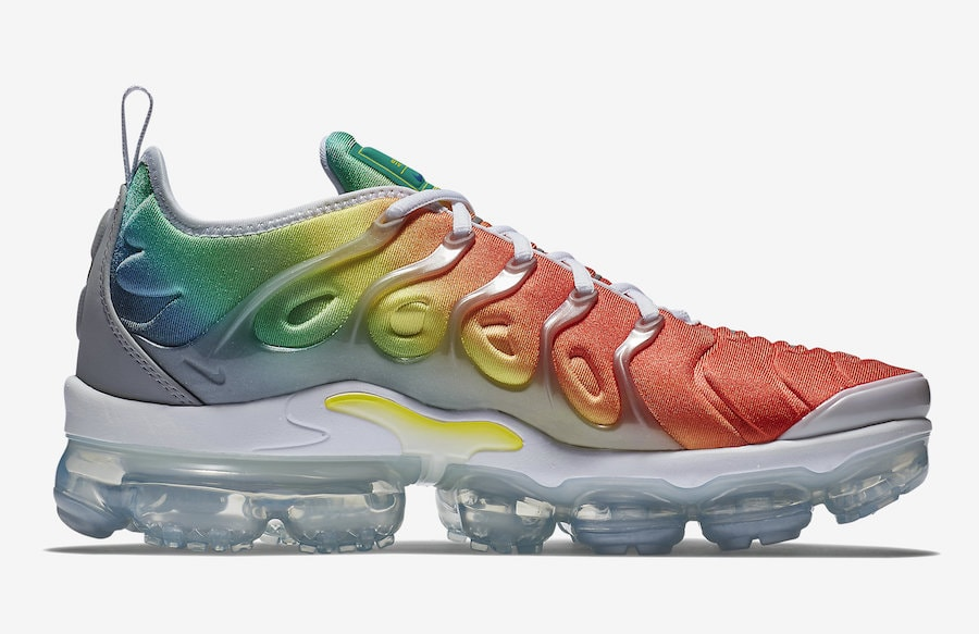 on sale ba308 95e36 ... get nike air vapormax plus rainbow release date april 26 2018. price 190.  color