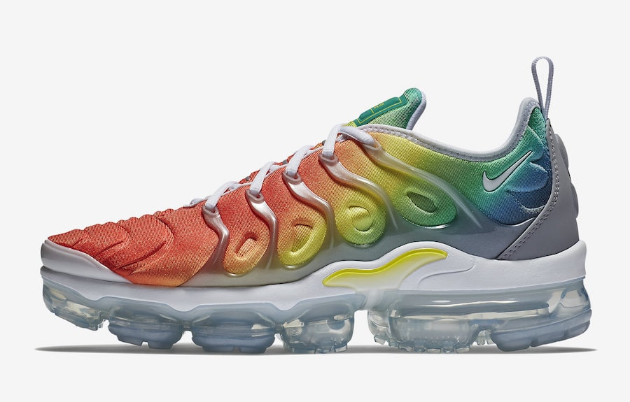 b70dcb642ffa2 The Nike Air Vapormax Plus Gets a Rainbow Update This Month