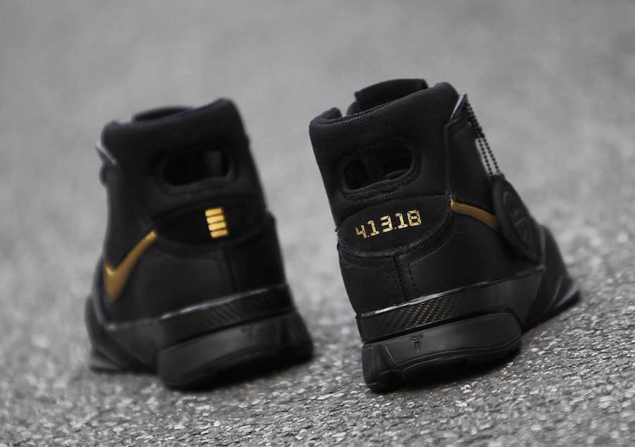 "sports shoes be8f5 331d0 Nike Kobe 1 Protro ""Mamba Day"" Color BlackBlack-White-Metallic Gold Style  Code AQ2728-002. Release Date April 13, 2018. Price 175"