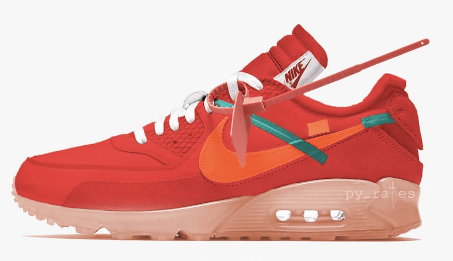 new concept 07ff3 7b6c2 ... official store off white x nike air max 90 mango release date december  2018. price