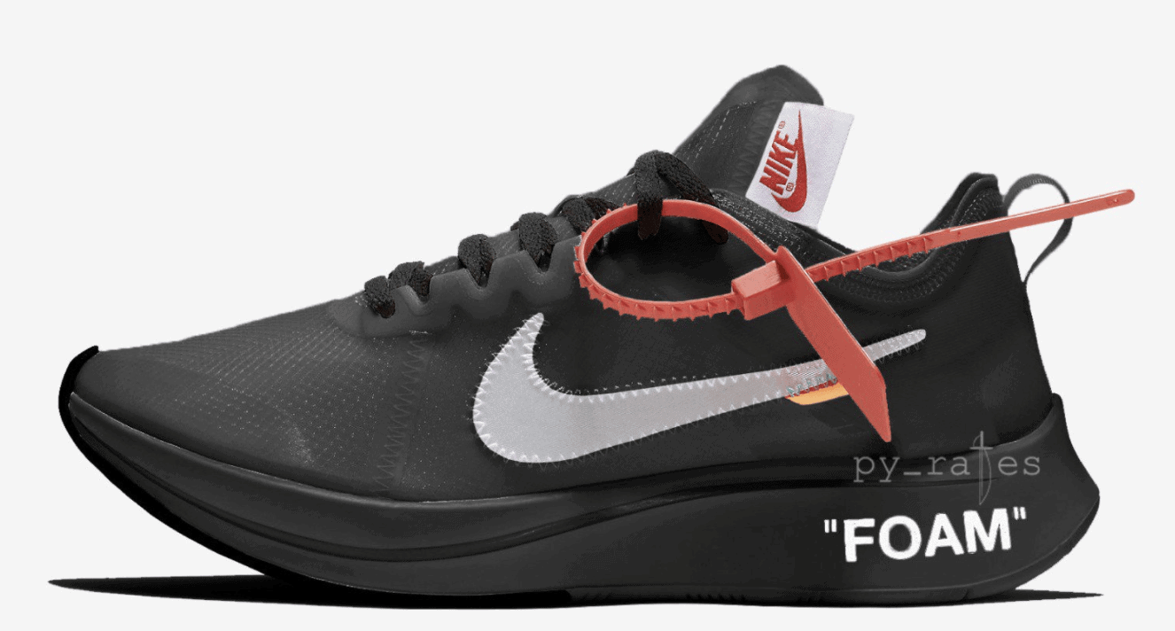 7eb22e1d7b660 Off-White x Nike Zoom Fly Release Date  October 2018. Price   170. Color   Black White Style Code  AJ4588-001