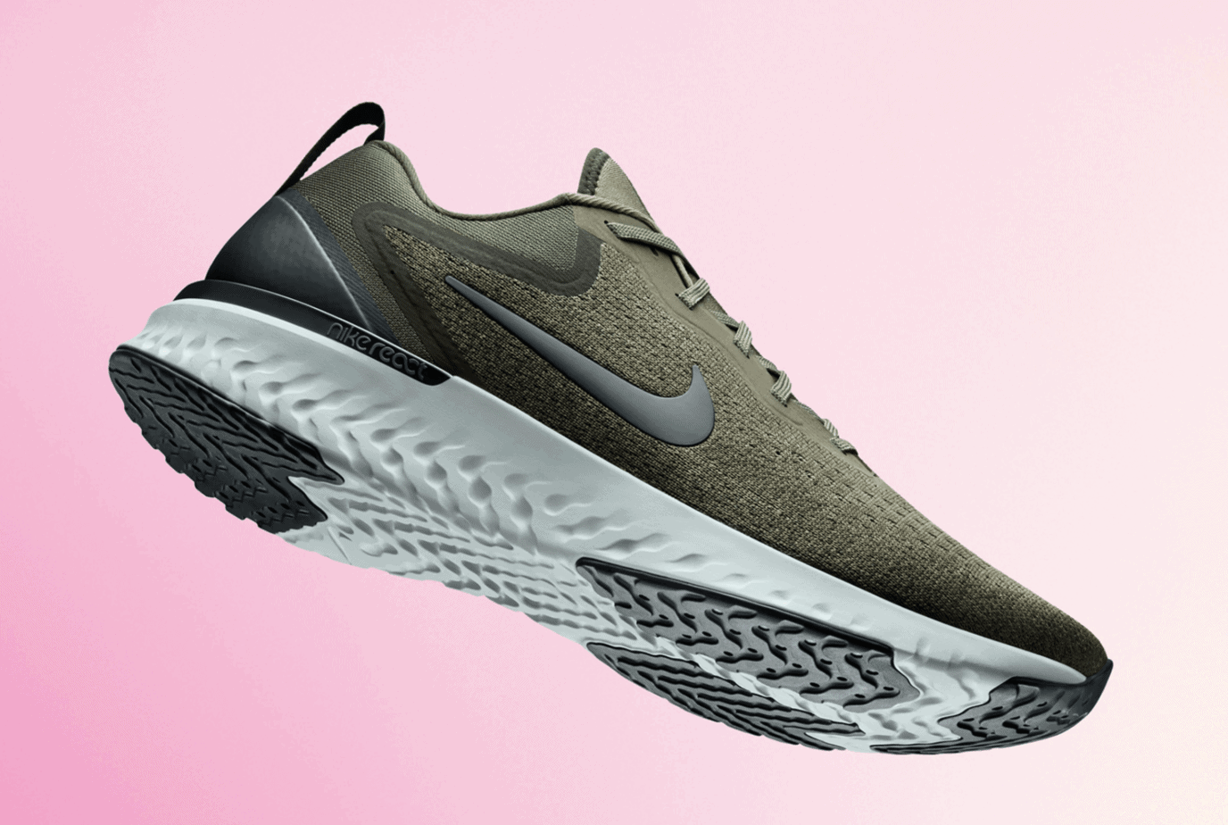 buy online d094e b5a81 The foam first debuted on the Epic React Flyknit, a lightweight running  shoe. Now, the Swoosh is introducing a new model to the line, the Nike  Odyssey ...