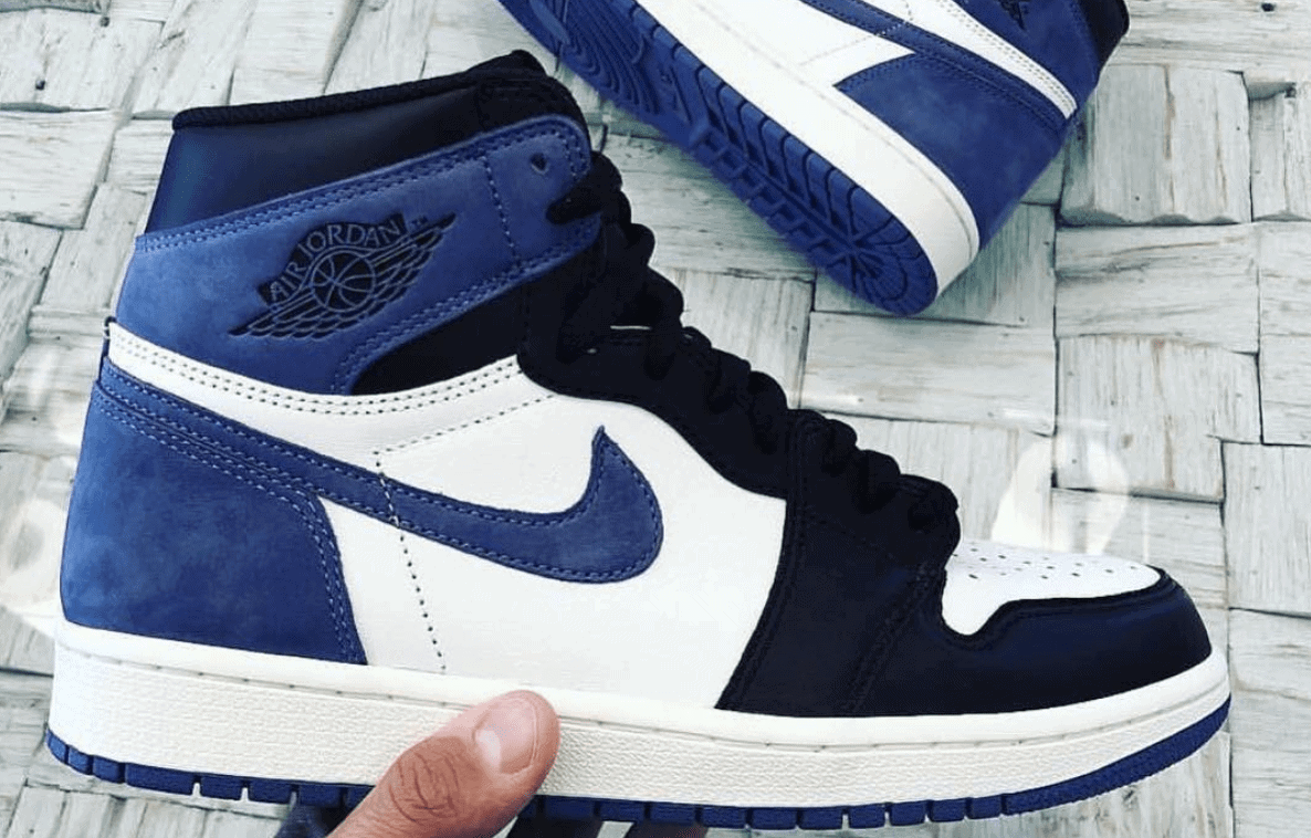 "dd3c129932e8 Air Jordan 1 Retro High OG 6 Rings ""Blue Moon"" Finally Surfaces Online"