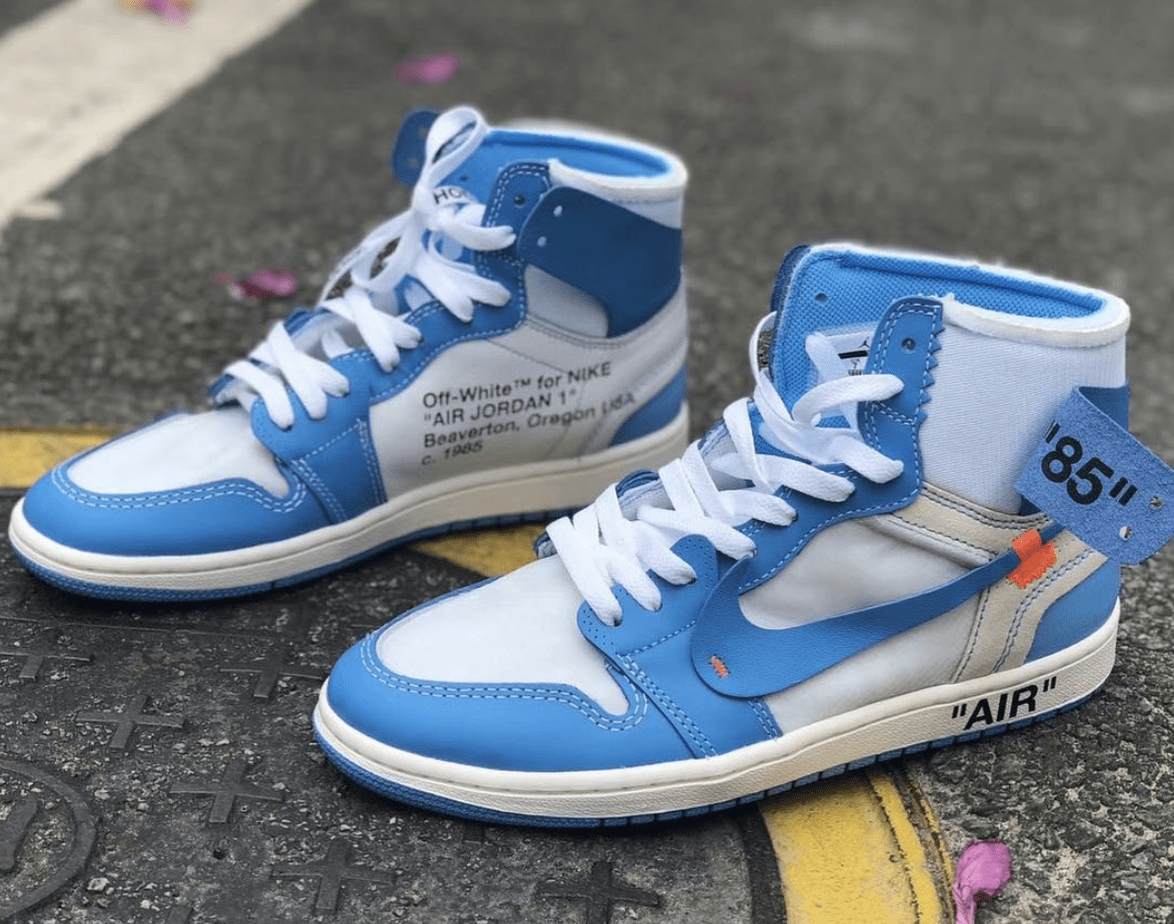 6074d90314a4 Off-White x Air Jordan 1