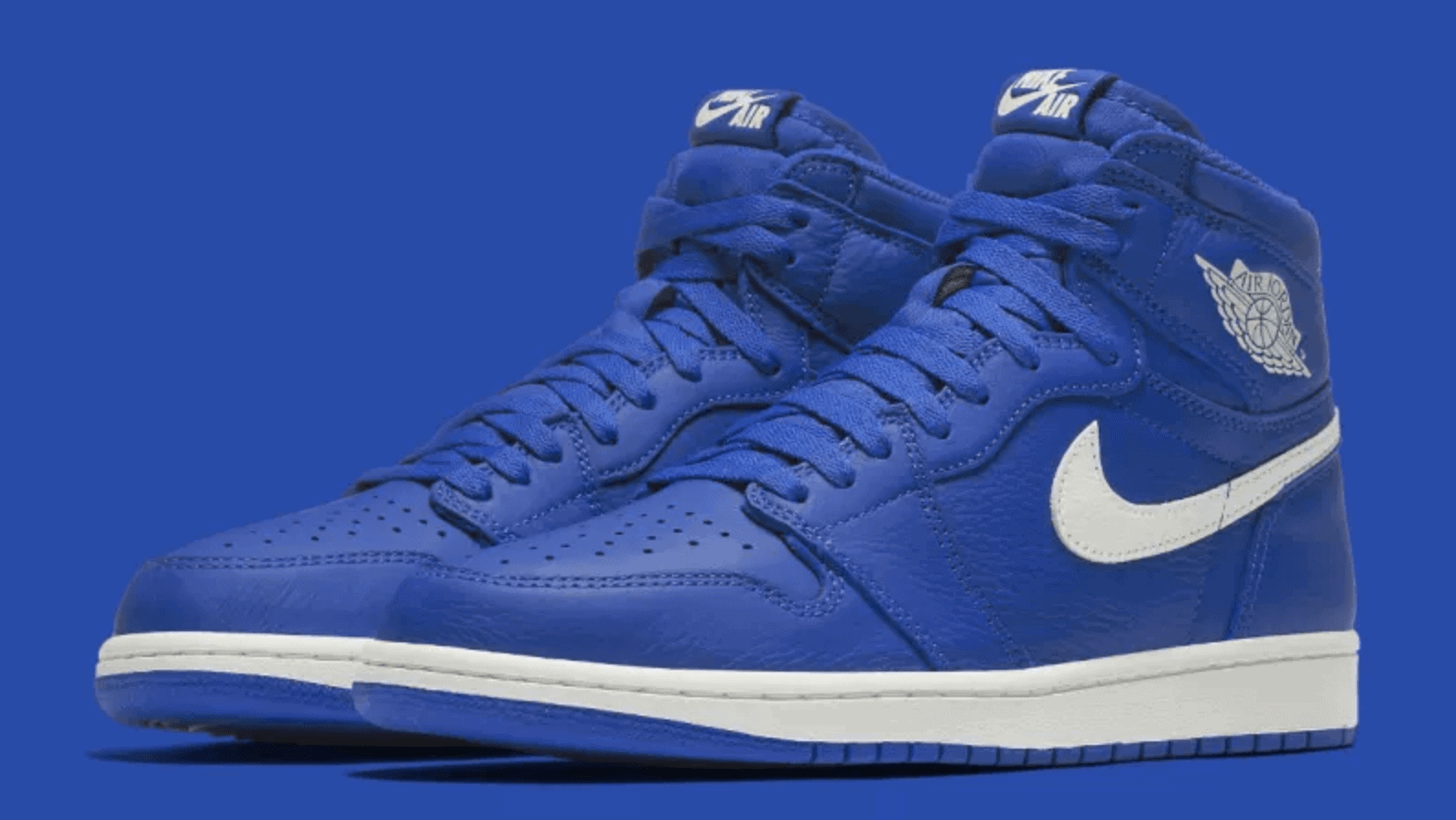 sale retailer b49b5 ad933 ... inexpensive air jordan 1 hyper royal release date july 1 2018. color royal  sail price