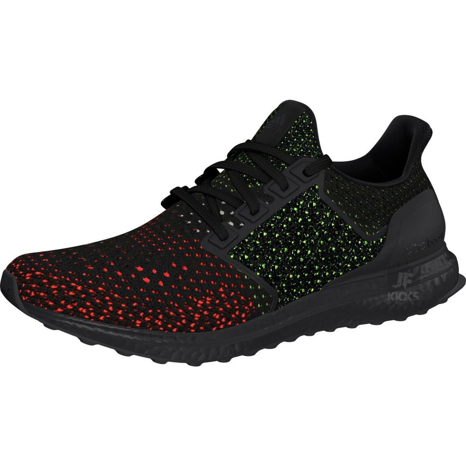 "39d8827e2f40c adidas Ultra Boost Clima ""Black"" with Red   Green Speckles"