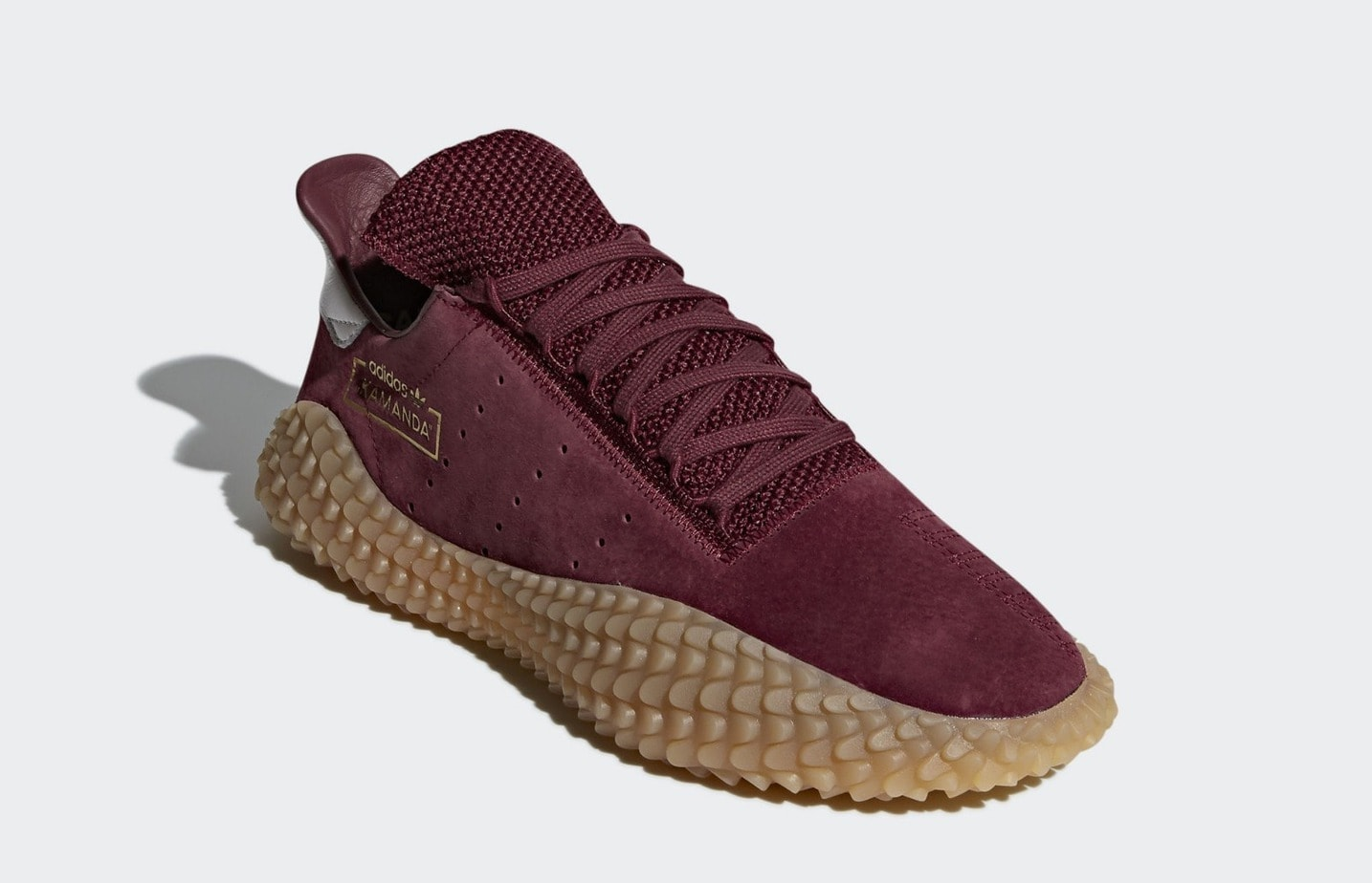 """42d8e30c408c The adidas Kamanda First Official Images Reveal a New """"Burgundy"""" Colorway"""