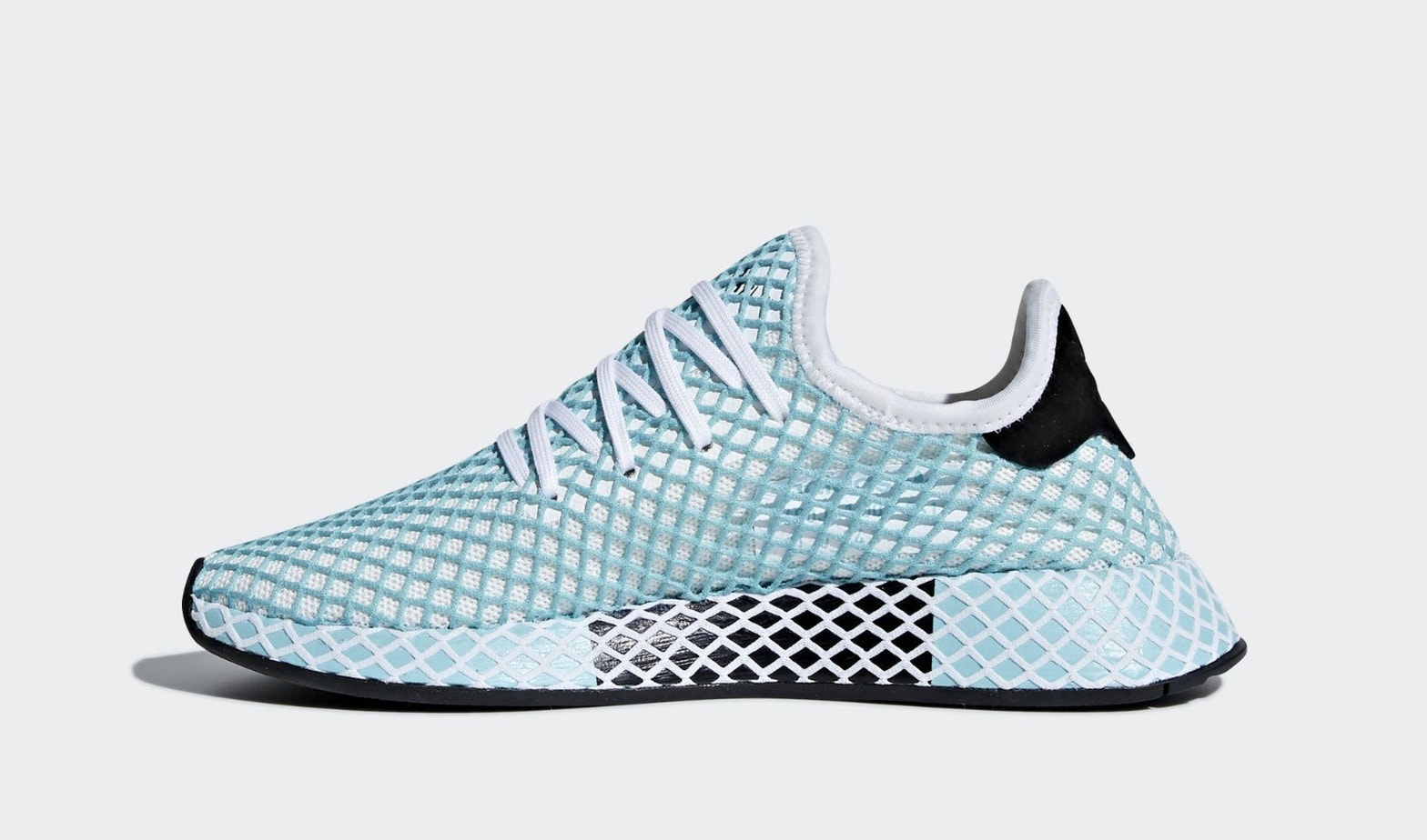 huge discount 48dee 11a37 Parley x adidas Deerupt Release Date Summer 2018. Color Ftwr WhiteFtwr  WhiteBlue Spirit