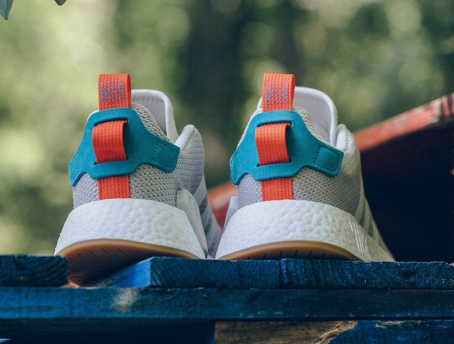 "adidas NMD R2 ""Summer"" Release Date  Coming Soon Price   130. Color   Crystal White Orange-Green Style Code  CQ3080 37aa7aae4"