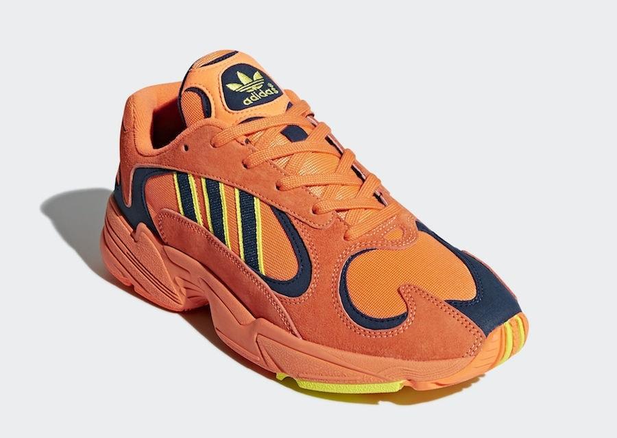 6772e55b9 adidas Yung-1. Release Date  June 2018. Price   130. Color  Hi-Res  Orange Hi-Res Orange-Shock Yellow Style Code  B37613
