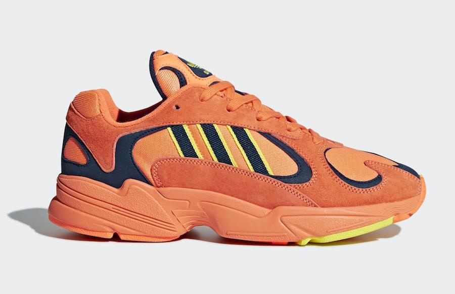 1fb907163f57 adidas Yung-1. Release Date  June 2018. Price   130. Color  Hi-Res  Orange Hi-Res Orange-Shock Yellow Style Code  B37613